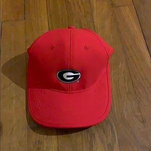 Red Nike Georgia UGA hat cap